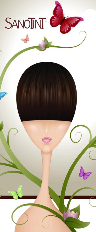 naturalna pielęgnacja włosów farby bez amoniaku bez parbenów Sanotint